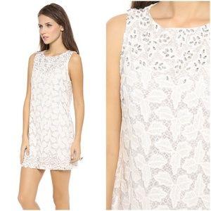 Alice + Olivia Dot Embellished Shift Dress 8